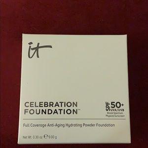 Celebration foundation powder